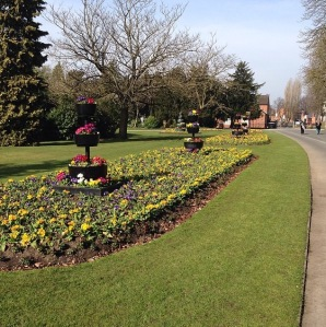 cannon hill park, cannon hill, birmingham, park, flowers, outdoors
