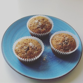 banana, cranberry, healthy food, wholemeal, muffins, cupcakes