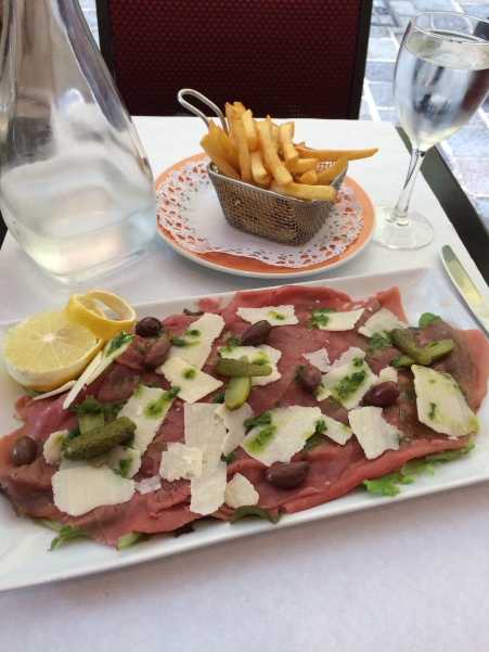 carpaccio, beef, french food, monaco