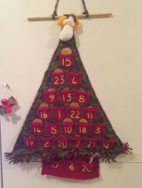 knitting, knitted, advent calendar, christmas tree, christmas, festive, blogmas, advent