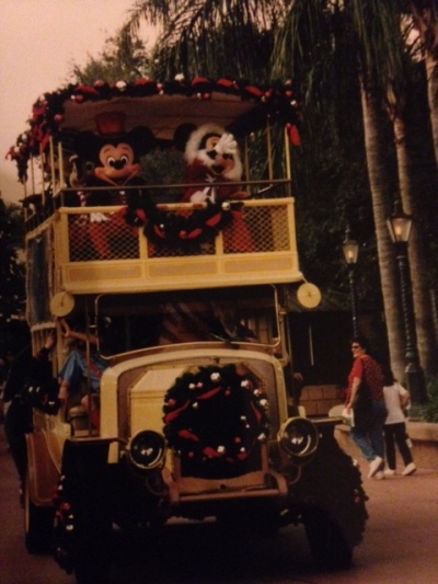 disney world, christmas, mickey mouse, disney, florida, orlando, christmas parade