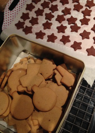 biscuits, cookies, fudge, home baking, christmas baking, festive