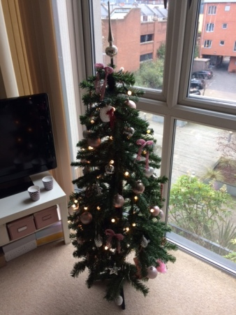 christmas tree, festive, christmas, decoration, home, lifestyle