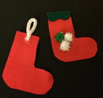 christmas tree, stocking, hobby craft, craft, christmas, festive
