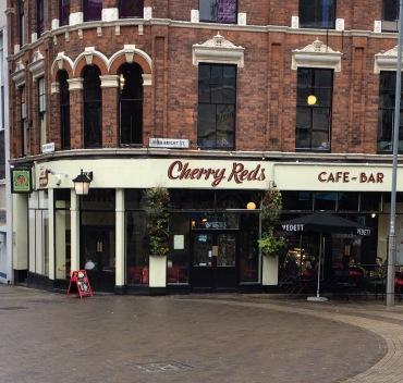 cherry reds, cafe, bar, birmingham