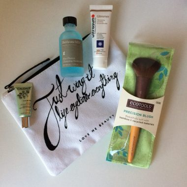 love me beauty, perricone md, caudalie, ecotools, ultrasun, beauty samples, beauty products