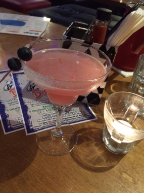 elderflower and blueberry margarita, cocktail, alcohol, drink, Bodega Birmingham