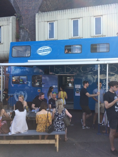 the big greek bus, greek mezze, cyprus, street food, british street food awards