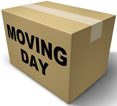 moving day, packing box, relocation, house move, how to manage a house move