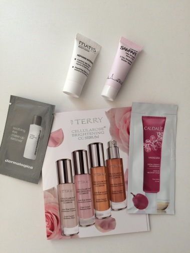 feel unique, beauty samples, beauty products, dermalogica, by terry, caudalie, sampar, mates eye cream