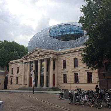 museum, zwolle, the cloud, museum de foundation, architecture
