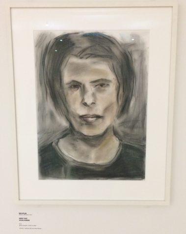 museum de fundatie, artwork, portrait, pastels, bob dylan