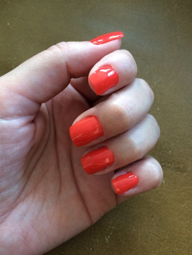 barry m, nails, coral, nail varnish, beauty