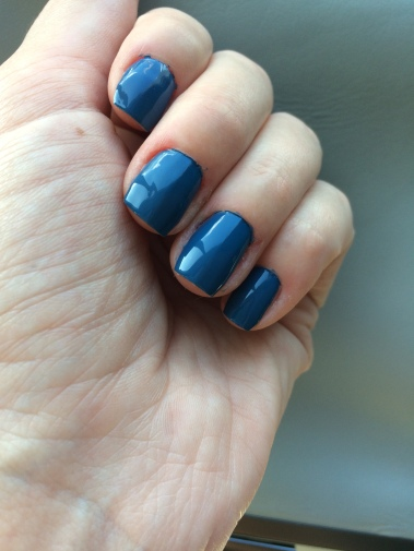 hema, nail varnish, deep sea blue