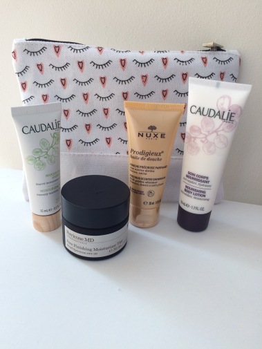 love me beauty, sampling beauty, beauty review, perricone md, caudalie, nuxe, beauty review