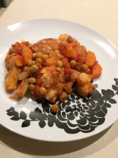 bbc good food, good food recipes, 101 budget dishes, chicken, root vegetables, chickpeas, moroccan cuisine