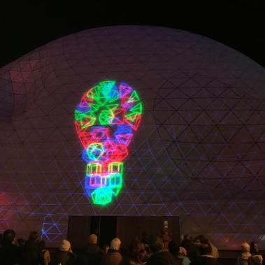 glow eindhoven, light art festival, blob the bulb, nieuwe emmasingel, light bulb
