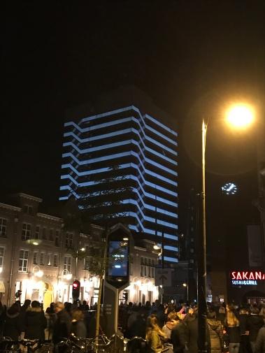 glow eindhoven, light art festival, keizersgracht, light over matter, street lights