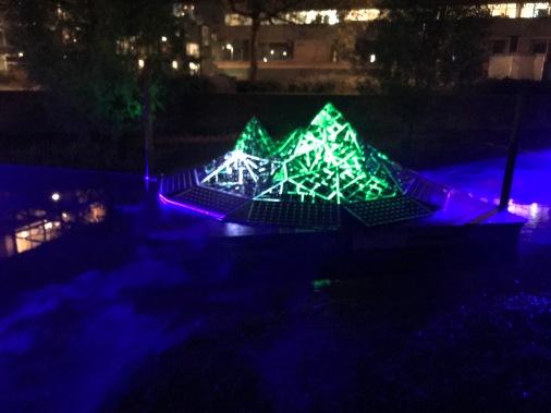 glow eindhoven, light art festival, street art, river display, elantica