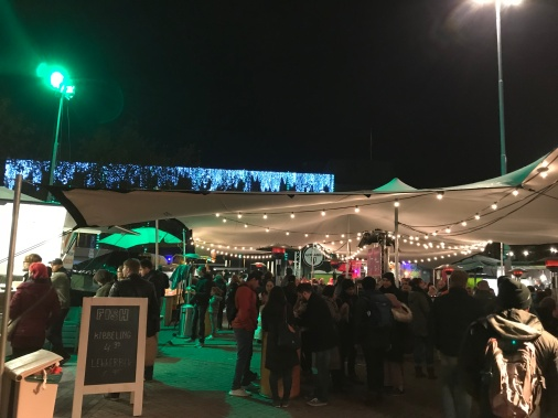 glow eindhoven, glow spot, pop-up, stationsplein, food and drink, food truck