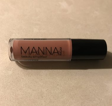 manna kadar lip locked stain sienna, lip gloss, lipstick, beauty products, beauty sample, review