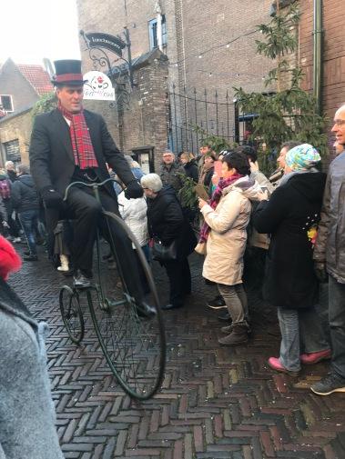 dickens festival, deventer, charles dickens, dickens festijn, victorian, netherlands, penny farthing