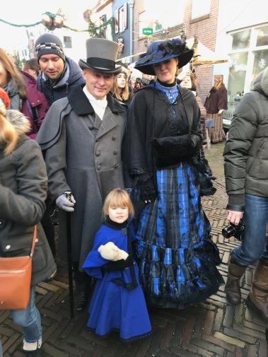 dickens festival, deventer, charles dickens, dickens festijn, victorian, netherlands, rich family