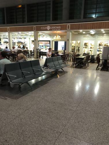 navigating malaga airport, amii at thirty, airport guide, travel blog, departures lounge