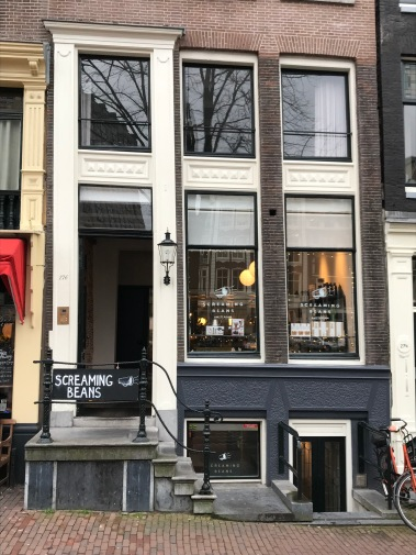 negen straatjes, nine streets, amsterdam, netherlands, screaming beans, cafe, coffee